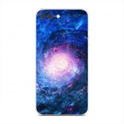 Силиконовый чехол Космический портал на iPhone 7 Plus