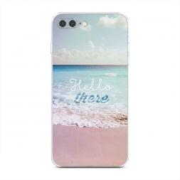 Силиконовый чехол Hello there на iPhone 7 Plus