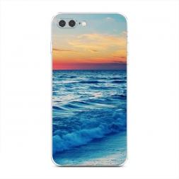 Силиконовый чехол Прилив на iPhone 7 Plus