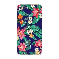 Силиконовый чехол Гавайский принт на iPhone 7 Plus