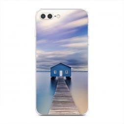 Силиконовый чехол Домик на воде на iPhone 7 Plus