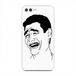 Силиконовый чехол Yao Ming на iPhone 7 Plus