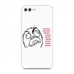 Силиконовый чехол Fuuu на iPhone 7 Plus