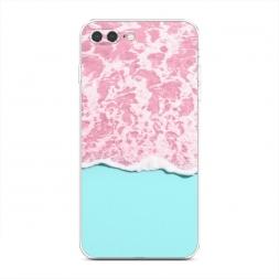 Силиконовый чехол Розовая вода на iPhone 7 Plus