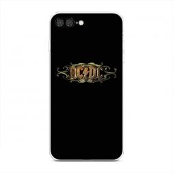 Силиконовый чехол AC/DC на iPhone 7 Plus