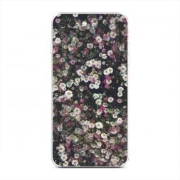 Силиконовый чехол Полевые цветы на iPhone 7 Plus