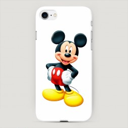 Пластиковый чехол Микки Маус пластик на iPhone 8