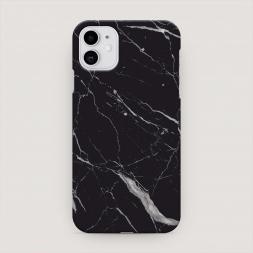 Пластиковый чехол Черный минерал на iPhone 11