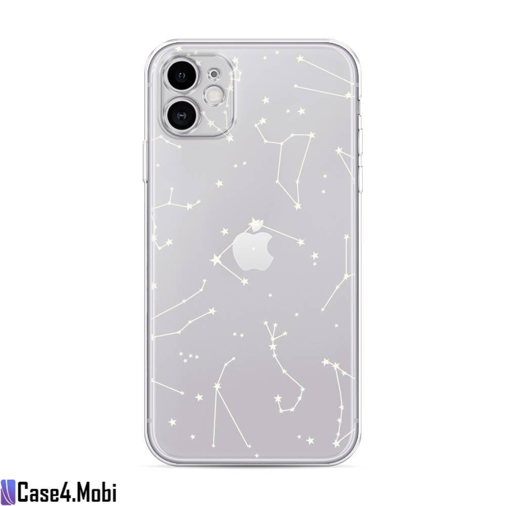 Силиконовый чехол Созвездия на iPhone 11