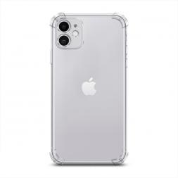 Противоударный силиконовый чехол Прозрачный на iPhone 11