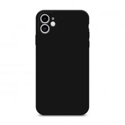 Матовый силиконовый чехол без принта на iPhone 11