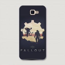 Пластиковый чехол Fallout 7 на Samsung Galaxy J5 Prime 2016