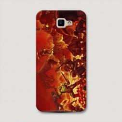 Пластиковый чехол Doom 2 на Samsung Galaxy J5 Prime 2016