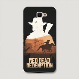 Пластиковый чехол Red Dead Redemption 2 на Samsung Galaxy J5 Prime 2016