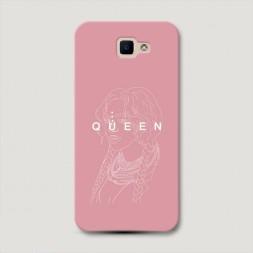 Пластиковый чехол Beyonce Queen набросок на Samsung Galaxy J5 Prime 2016
