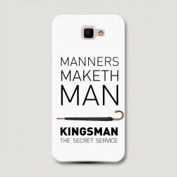 Пластиковый чехол Kingsman постер 6 на Samsung Galaxy J5 Prime 2016