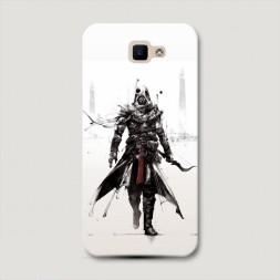 Пластиковый чехол Assassin's Creed в белом на Samsung Galaxy J5 Prime 2016