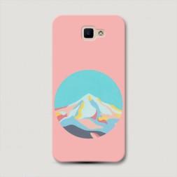 Пластиковый чехол Пастельные горы на Samsung Galaxy J5 Prime 2016