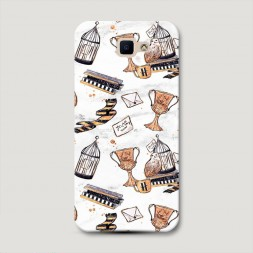 Пластиковый чехол Хогвартс предметы Хафлпаффа на Samsung Galaxy J5 Prime 2016