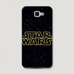 Пластиковый чехол Star Wars звездное небо на Samsung Galaxy J5 Prime 2016