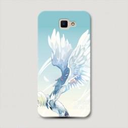 Пластиковый чехол Юрий Плисецкий ангел на Samsung Galaxy J5 Prime 2016