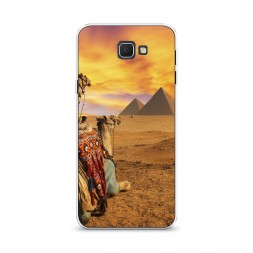 Cиликоновый чехол Пирамиды Египта 1 на Samsung Galaxy J5 Prime 2016