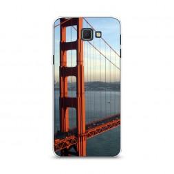 Cиликоновый чехол Сан-Франциско 2 на Samsung Galaxy J5 Prime 2016