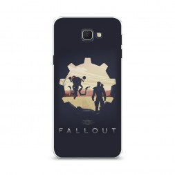Cиликоновый чехол Fallout 7 на Samsung Galaxy J5 Prime 2016