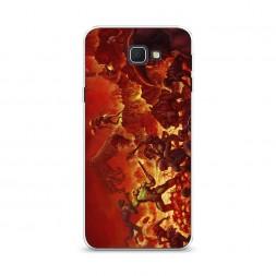 Cиликоновый чехол Doom 2 на Samsung Galaxy J5 Prime 2016