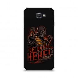 Cиликоновый чехол Mortal Kombat 1 на Samsung Galaxy J5 Prime 2016