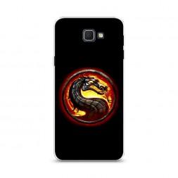 Cиликоновый чехол Mortal Kombat 2 на Samsung Galaxy J5 Prime 2016