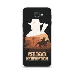 Cиликоновый чехол Red Dead Redemption 2 на Samsung Galaxy J5 Prime 2016