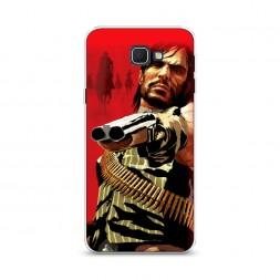 Cиликоновый чехол Red Dead Redemption 3 на Samsung Galaxy J5 Prime 2016
