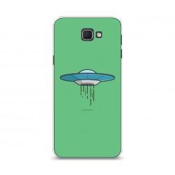 Cиликоновый чехол НЛО-тарелка на Samsung Galaxy J5 Prime 2016