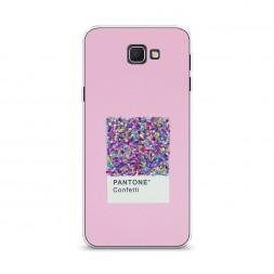 Cиликоновый чехол Pantone confetti на Samsung Galaxy J5 Prime 2016