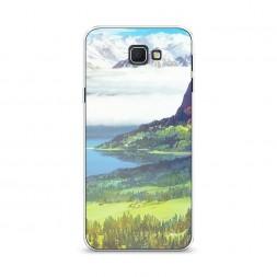 Cиликоновый чехол Райская долина на Samsung Galaxy J5 Prime 2016