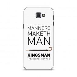 Cиликоновый чехол Kingsman постер 6 на Samsung Galaxy J5 Prime 2016