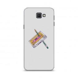 Cиликоновый чехол Кассета с ручкой на Samsung Galaxy J5 Prime 2016