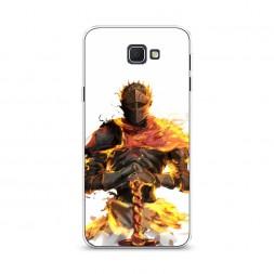 Cиликоновый чехол Dark Souls Рыцарь на Samsung Galaxy J5 Prime 2016