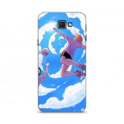 Cиликоновый чехол Haikyuu небесный бросок на Samsung Galaxy J5 Prime 2016