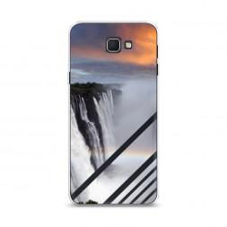 Cиликоновый чехол Туманный водопад на Samsung Galaxy J5 Prime 2016