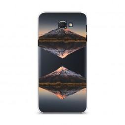 Cиликоновый чехол Отражение горы на Samsung Galaxy J5 Prime 2016