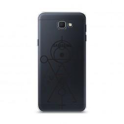 Cиликоновый чехол Символы геометрия на Samsung Galaxy J5 Prime 2016