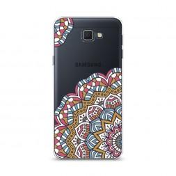 Cиликоновый чехол Цветок мозайка на Samsung Galaxy J5 Prime 2016