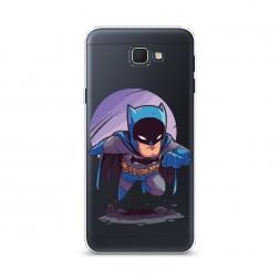 Cиликоновый чехол Бэтмен daufman на Samsung Galaxy J5 Prime 2016