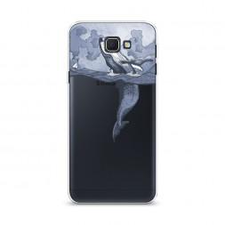 Cиликоновый чехол Два измерения на Samsung Galaxy J5 Prime 2016