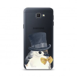 Cиликоновый чехол Мистер воробей на Samsung Galaxy J5 Prime 2016