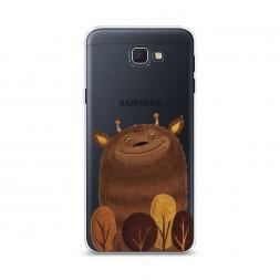 Cиликоновый чехол Монстрик на Samsung Galaxy J5 Prime 2016