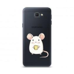 Cиликоновый чехол Мышка на Samsung Galaxy J5 Prime 2016