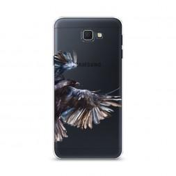 Cиликоновый чехол Полет на Samsung Galaxy J5 Prime 2016